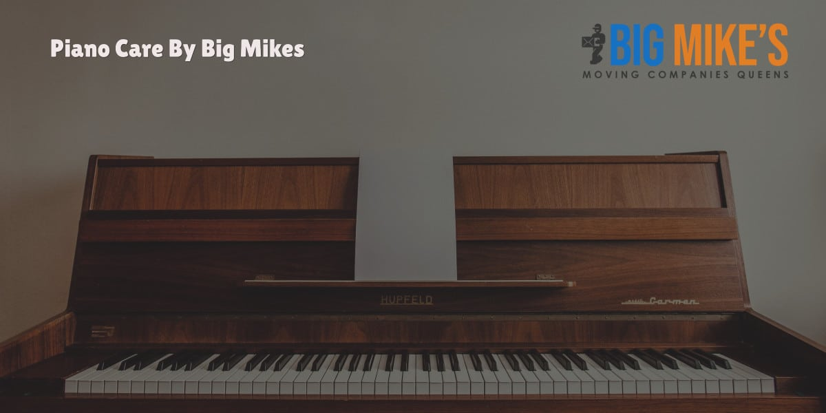 Piano Care By Big Mikes