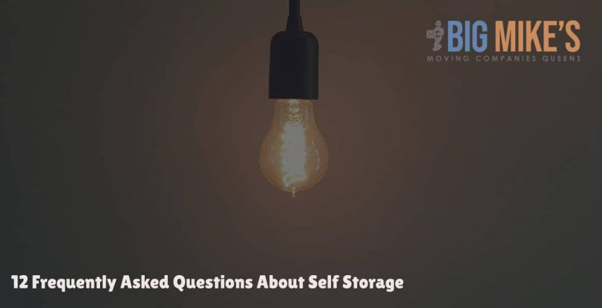 12 Frequently Asked Questions About Self Storage